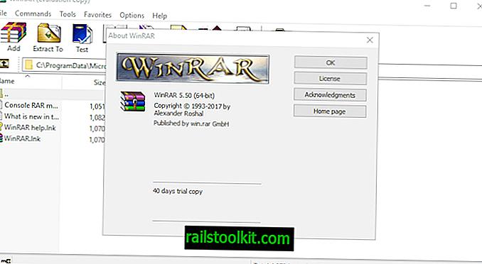A WinRAR 5.50 fontos változtatásokkal jelent meg