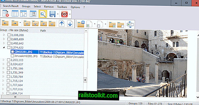 Duplicate File Finder AllDup 4.0 publié