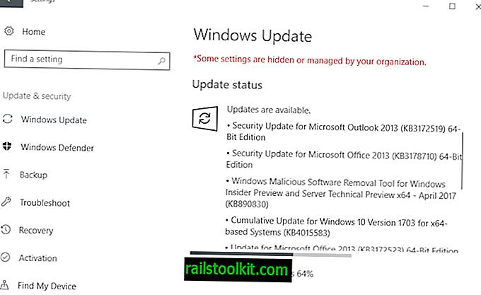 Microsoft 보안 업데이트 2017 년 4 월 릴리스