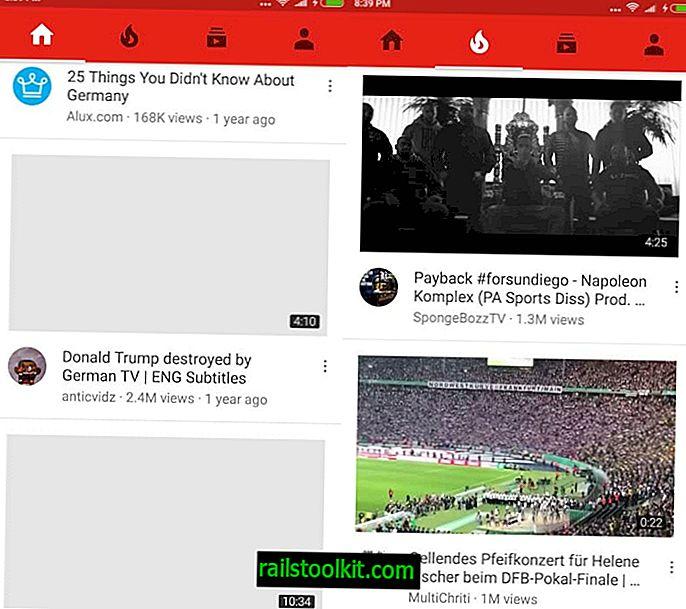 La actualización de la aplicación de YouTube se inicia con cambios importantes en la interfaz de usuario