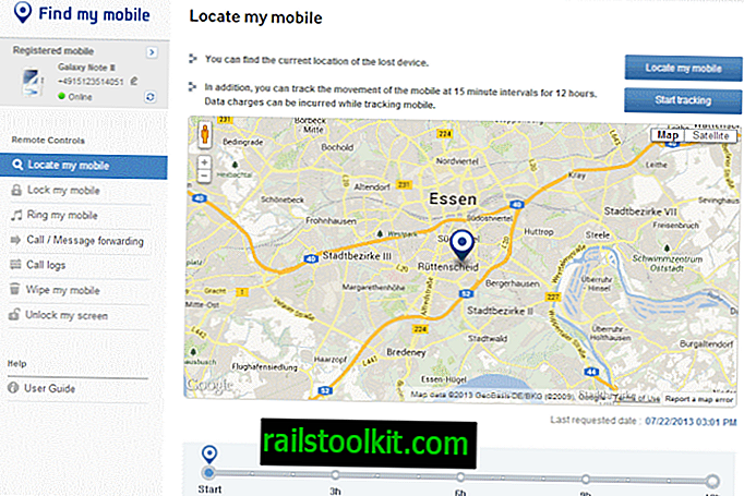 Configurar o serviço gratuito Encontrar meu celular da Samsung