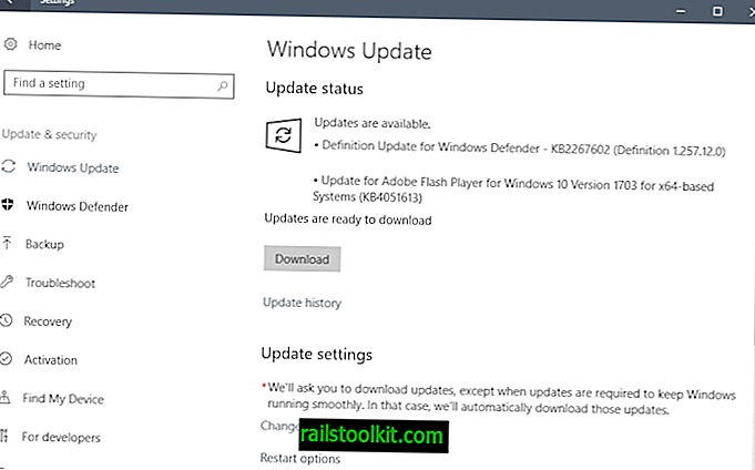 KB4051613: Adobe Flash Player Windows Update
