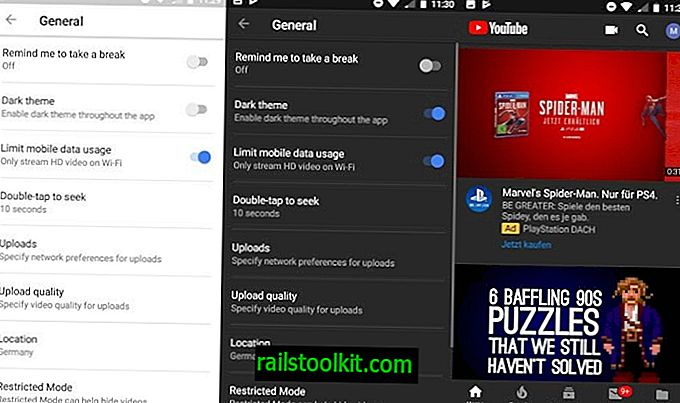 Aktiviere das dunkle Thema in der Android YouTube App