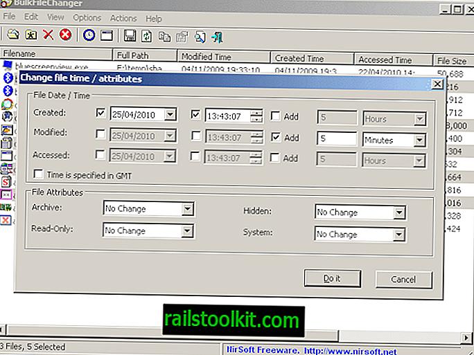Bulk File Changer
