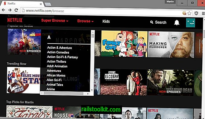 Sfoglia le categorie nascoste su Netflix con Super Browse