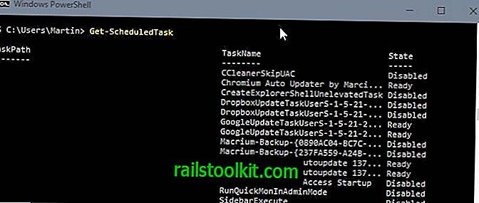 A PowerShell használatával kezelheti az ütemezett feladatokat a Windows rendszerben