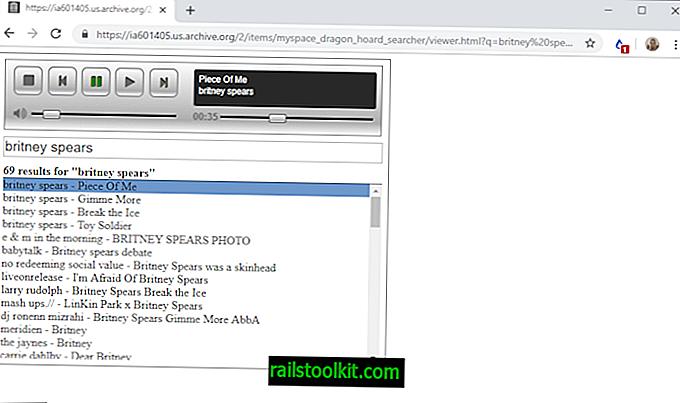 Internet Archive carica 1,3 Terabyte di musica MySpace persa