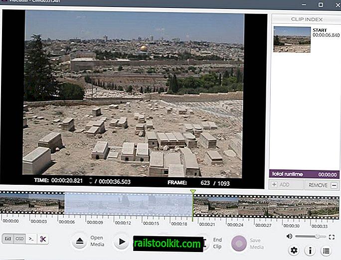 Ulasan VidCutter: pemotongan video mudah