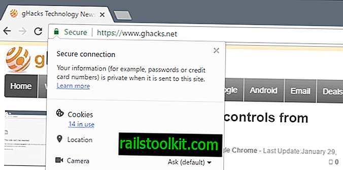 Como exibir detalhes do certificado no Chrome