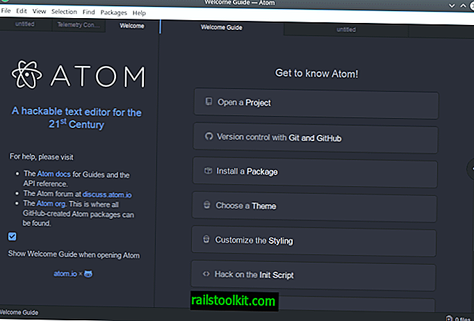 Ein Blick auf den Atom-Texteditor für GNU / Linux