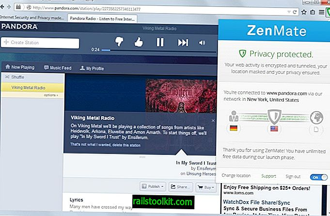 Browsing Proxy ZenMate jetzt auch für Firefox verfügbar