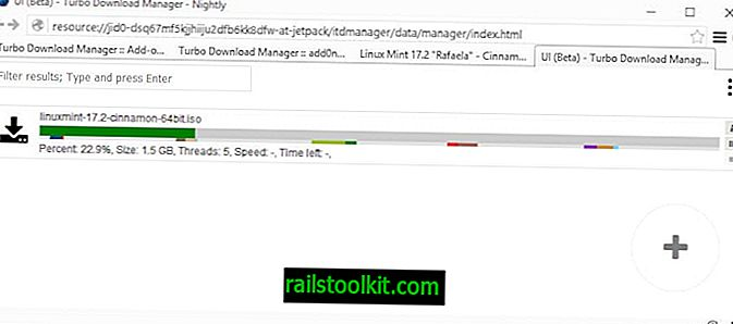 Turbo Download Manager avec support multi-threading pour Firefox