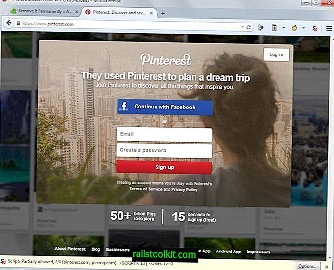 Unbegrenztes Surfen auf Pinterest ohne Registrierung