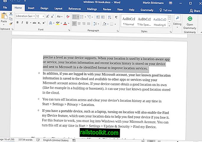 Koristite F8 u programu Microsoft Word za brzi odabir teksta