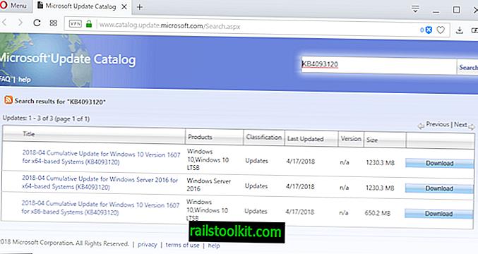 Kumulative Windows 10-Updates KB4093120 und KB4093117 veröffentlicht