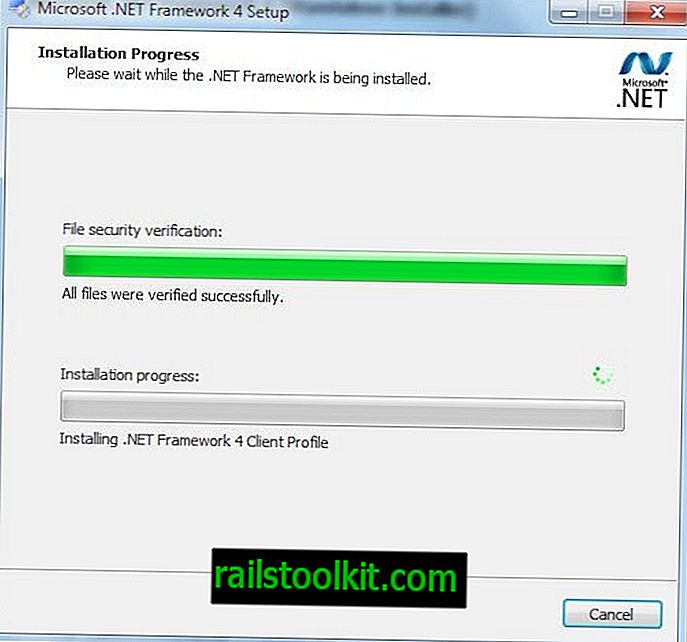 Download do Microsoft .NET Framework 4