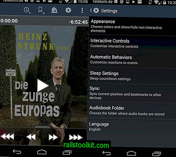 Слушайте Audiobook Player за Android