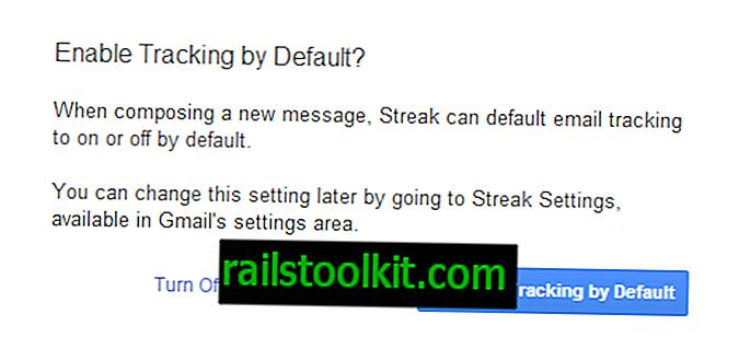 Ali lahko Streak res sledi, če beremo e-poštna sporočila iz Gmail?