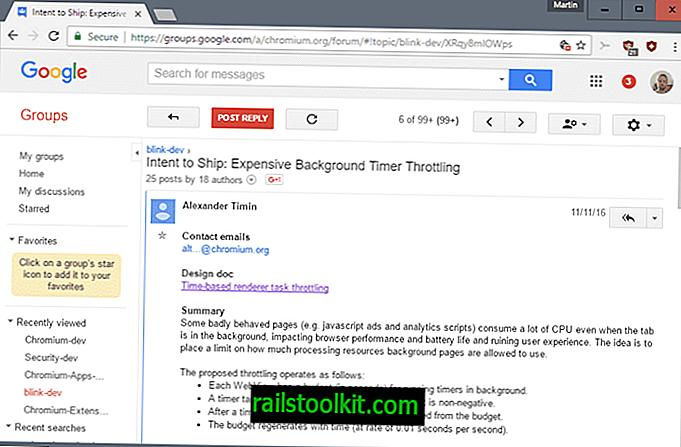 Chrome za umanjivanje skupih pozadinskih stranica