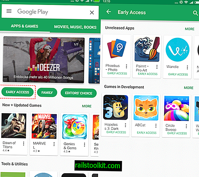 Early Access- und Beta-Apps bei Google Play