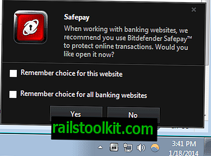 Bagaimana untuk melumpuhkan Bitdefender Safepay