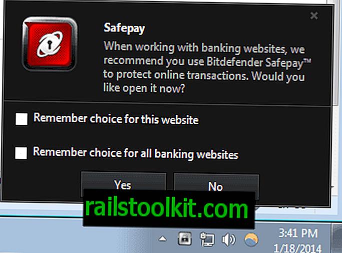 Slik deaktiverer du Bitdefender Safepay
