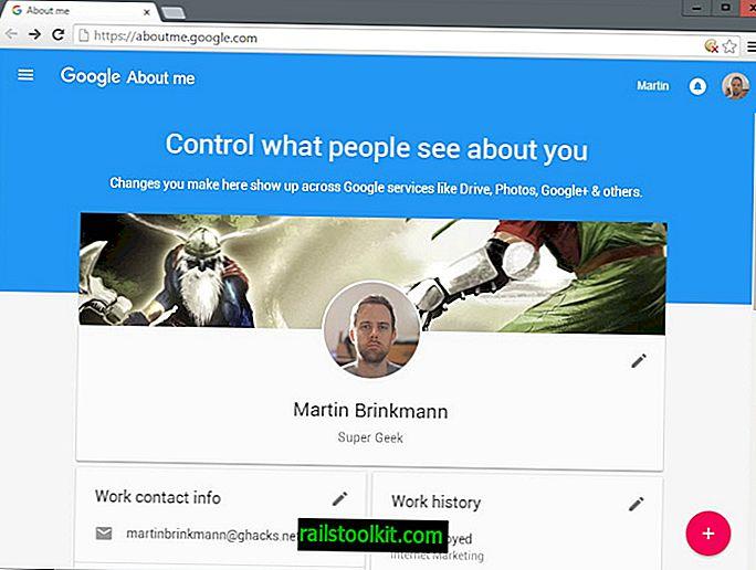 Edite su visibilidad en línea con Google About Me
