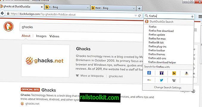 Hogyan lehet váltani a Firefox keresőmotorjai között