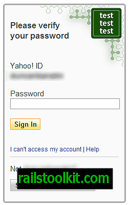 Selo de logon do Yahoo protege contra phishing