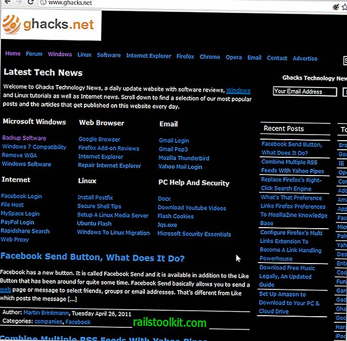 Perubahan Warna Membolehkan Anda Mengganti Gaya Laman Dalam Chrome