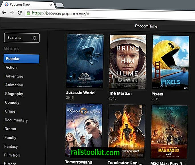 Browser Popcorn: Popcorn Time als een webservice