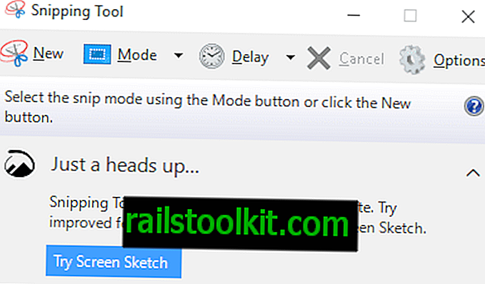 Goodbye Snipping Tool Hallo Bildschirmskizze