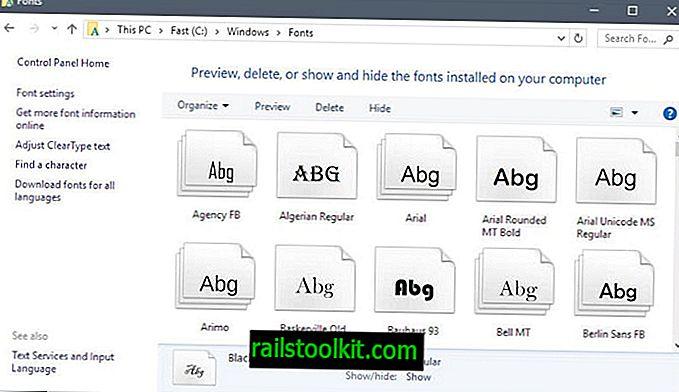 Како инсталирати и управљати фонтовима на Виндовс 10