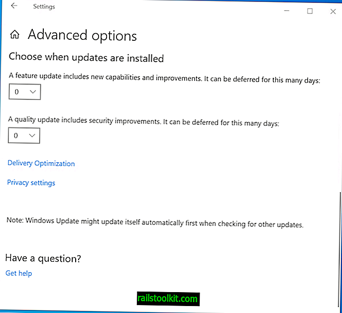Microsoft ändert die Windows Update for Business-Optionen
