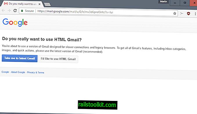 Google veut que vous utilisiez une version à jour de Chrome