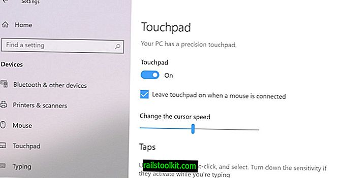 Come disabilitare il touchpad di Surface Pro