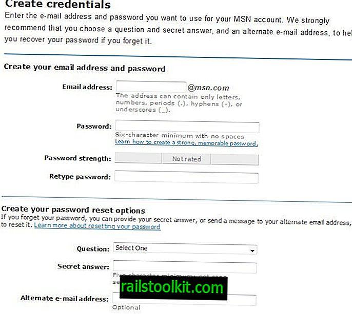무료 MSN 이메일 받기