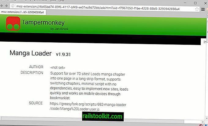 Το Tampermonkey για τον Firefox κυκλοφόρησε