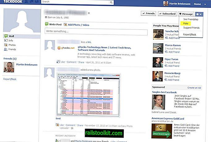 Pokes, kako ih ponovo prikazati na Facebooku