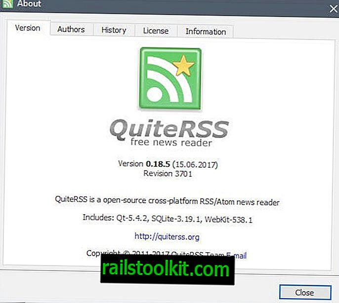 QuiteRSS Feed Reader dobiva prvo ažuriranje u više od godinu dana