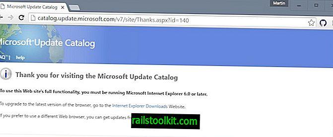 Töltse le a Microsoft frissítési katalógusa frissítéseit IE nélkül