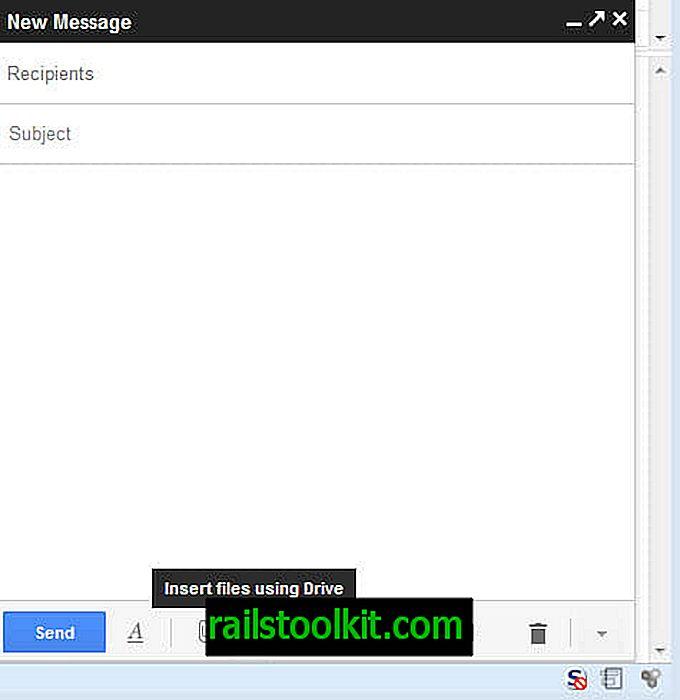 """""""Gmail"""": didelių failų siuntimas naudojant """"Google"""" diską"""
