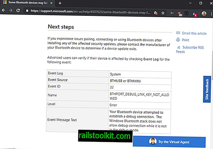 """Negalite susieti tam tikrų """"Bluetooth"""" įrenginių """"Windows 8"""" ar 10 versijoje?  Tai tyčia"""