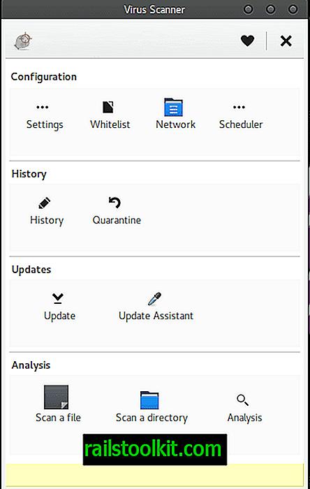 So installieren Sie ClamAV mit Clamtk UI unter GNU / Linux