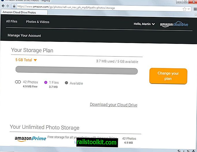 Hogyan működik az Amazon korlátlan fotótár a Cloud Drive számára