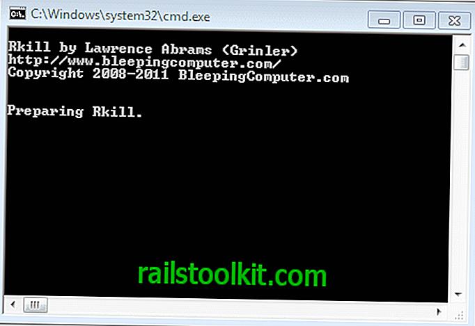 Rkill을 사용하여 맬웨어 프로세스 중지