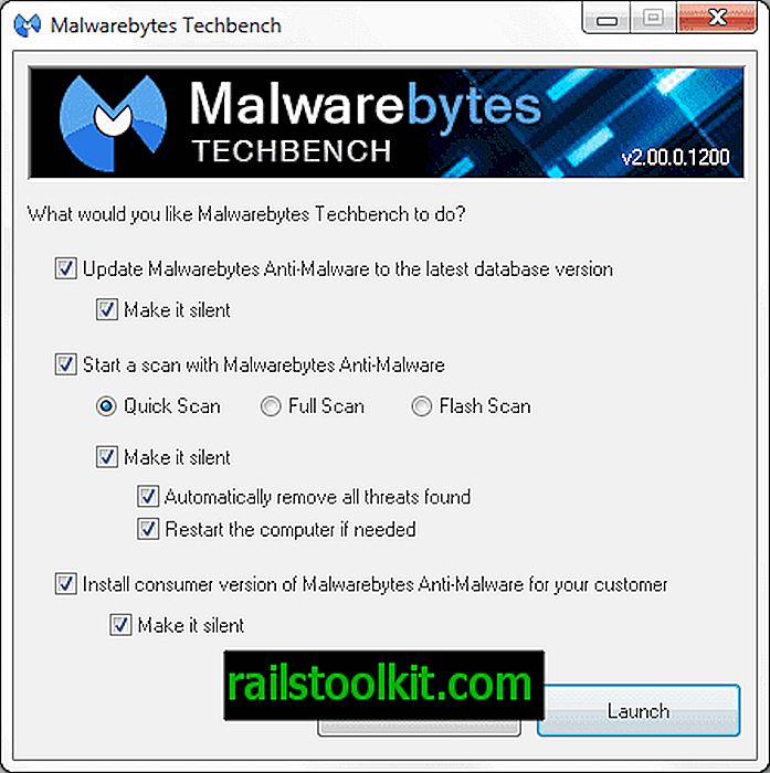 Malwarebytes Techbench, suppression des logiciels malveillants plug and play