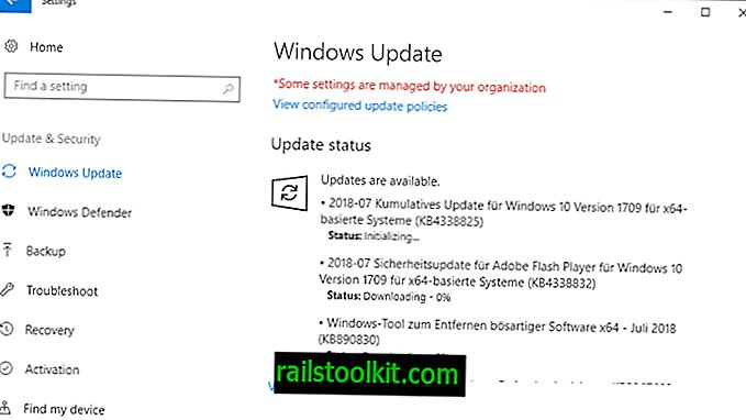 Übersicht über die Microsoft Windows-Sicherheitsupdates vom Juli 2018