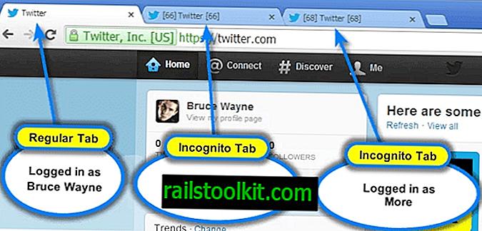 يتيح لك تسجيل الدخول متعدد الحسابات في Chrome تسجيل الدخول إلى الخدمات عدة مرات