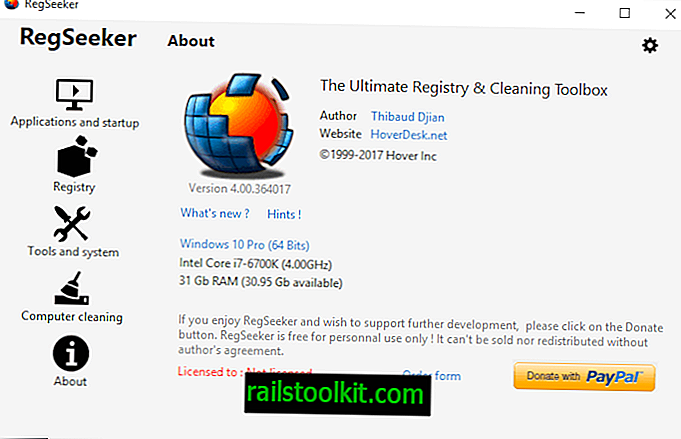 Kemas kini RegSeeker 4.5 membawa automasi